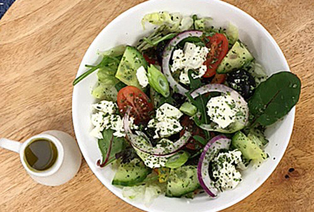 Griekse salade klein € 6,75